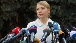 Cựu Thủ tướng Ukraina Yulia Tymoshenko thông báo sẽ ra tranh cử tổng thống, ngày 27/3/2014.