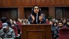 Bà Reyhaneh Jabbari bị kết án tử hình 5 năm qua vì đã giết chết người đàn ông theo cáo buộc là đã hãm hiếp bà.