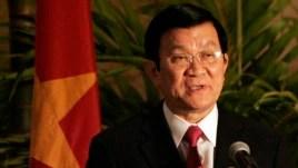 Chủ tịch nước Việt Nam Trương Tấn Sang.