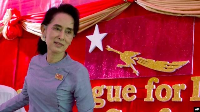 Lãnh tụ dân chủ Aung San Suu Kyi.