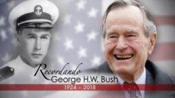 El presidente número 41 de EE.UU. falleció el viernes por la noche.