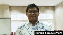 Epidemiolog UGM, Riris Andono Ahmad. (Foto: VOA/Nurhadi Sucahyo)