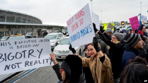 Nueva York se ha convertido en centro de las manifestaciones a favor de los inmigrantes.