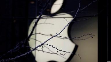 Logo Apple bên ngoài một cửa hàng của Apple ở Bắc Kinh