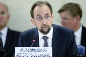 FILE: UN Human Rights Commissioner Zeid Ra'ad Al Hussein. Photo: UN/Jean-Marc Ferré.