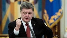 Tổng thống Ukraine Petro Poroshenko.