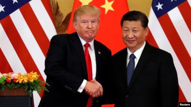Chuyến thăm của Tập trùng thời điểm với chuyến công du Việt Nam của Tổng thống Mỹ Donald Trump.