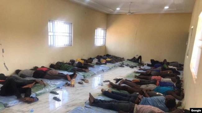 Rescued Abducted Kaduna school Children.