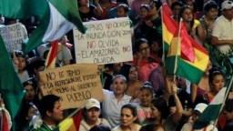 Las protestas en Bolivia han mostrado el descontento en el país tras los resultados de las elecciones del 20 de octubre pasado, que dieron como ganador a Evo Morales.
