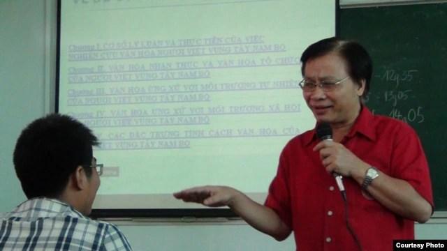 Giáo sư Tiến sĩ Trần Ngọc Thêm