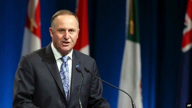 Thủ tướng New Zealand John Key.