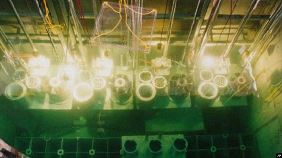 Các thanh nhiên liệu hạt nhân đã qua sử dụng được lưu trữ tại cơ sở hạt nhân Yongbyon, Bắc Triều Tiên. (Ảnh tư liệu)