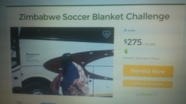 Some Zimbabweans are using a crowd funding application, gofundme, to raise money for the broke Warriors soccer squad.