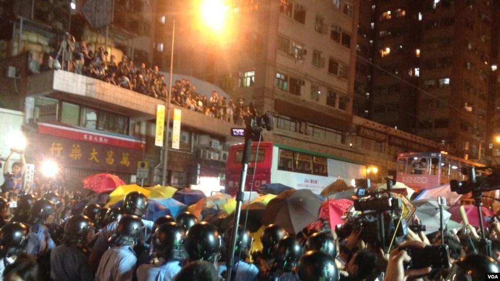 香港各界发起反人大释法大游行和集会(98图)
