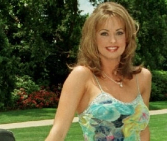 File Then Newly Named Playboy Playmate Of The Year Karen Mcdougal Poses On The
