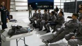 Rizman Nugraha dan para finalis AXE Apollo Academy pada saat melakukan pelatihan di Florida