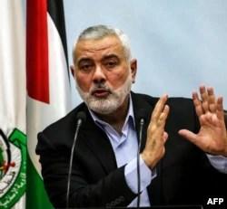 Pemimpin Hamas Ismail Haniyeh (foto: dok./ AFP).