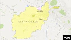 Kunduz province map
