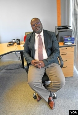 Justice Maphosa relaxing ...