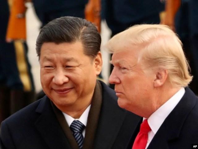 Дональд Трамп та Сі Цзіньпін