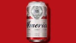 """Bia Budweiser đổi tên thành """"America"""" nhân dịp  tranh cử tổng thống Mỹ."""