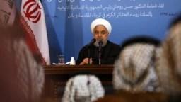 El presidente de Irán, Hasán Ruhani, descartó el martes 27 de agosto de 2019, sentarse a conversar con EE.UU. a menos que levante las sanciones económicas que pesan en su contra.