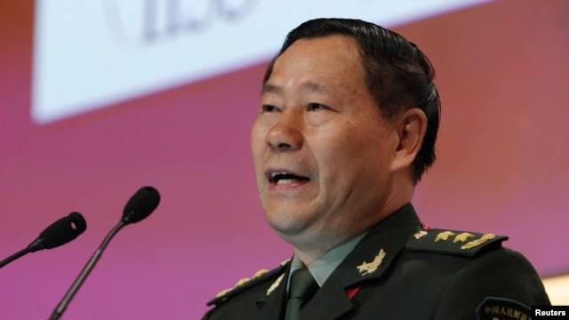 Tướng Thích Kiến Quốc, phó tổng tham mưu trưởng Quân giải phóng Nhân dân Trung Quốc.