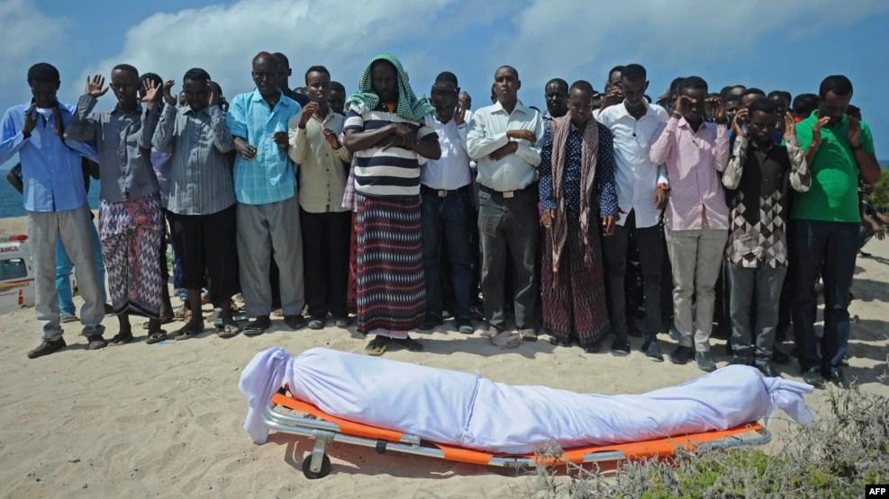 Faayilii - Sirna awwalchaa gazexxessa Abdulaziiz Ali Hajii, Abdulaziiz Somaliyaa keessatti ajjeefame, Fulbaana 28, 2016, Moqaadishoo