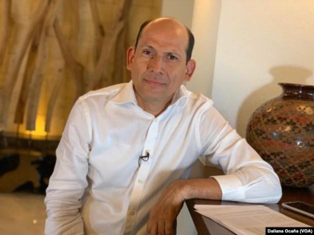 Guillermo Medrano, director de proyectos de la Fundación Violeta Barrios de Chamorro, en Managua, Nicaragua.