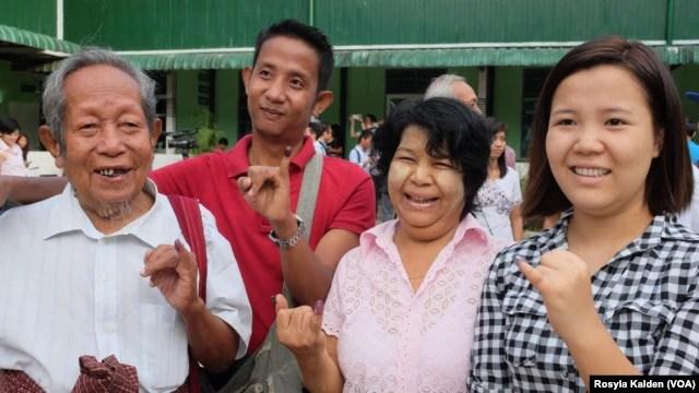 Ước tính 32 triệu cử tri hợp lệ bỏ phiếu trong cuộc tổng tuyển cử ở Myanmar hôm nay.