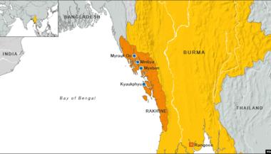 Afbeeldingsresultaat voor rohingya map