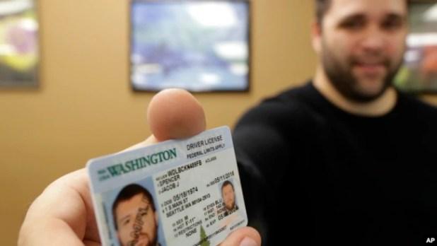Proses pengurusan Real ID di Negara Bagian Washington.
