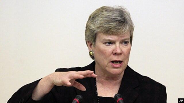 Thông báo của Bộ Ngoại giao Hoa Kỳ cho biết Thứ trưởng Rose Gottemoeller sẽ có mặt tại Việt Nam từ ngày 1/3 đến ngày 3/3.