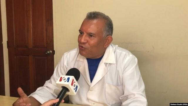 El doctor Francisco Javier Núñez, vocero de la Unidad Médica Nicaragüense, conversó con la Voz de América sobre el impacto de la pandemia en Nicaragua.
