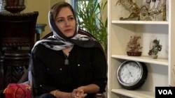 عاصمہ شیرازی، وائس آف امریکہ کے ساتھ انٹرویو کے دوران