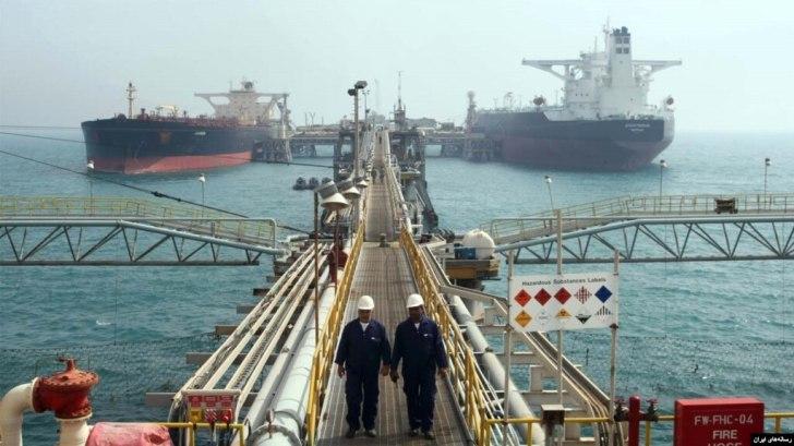 Một cơ sở dầu của Iran