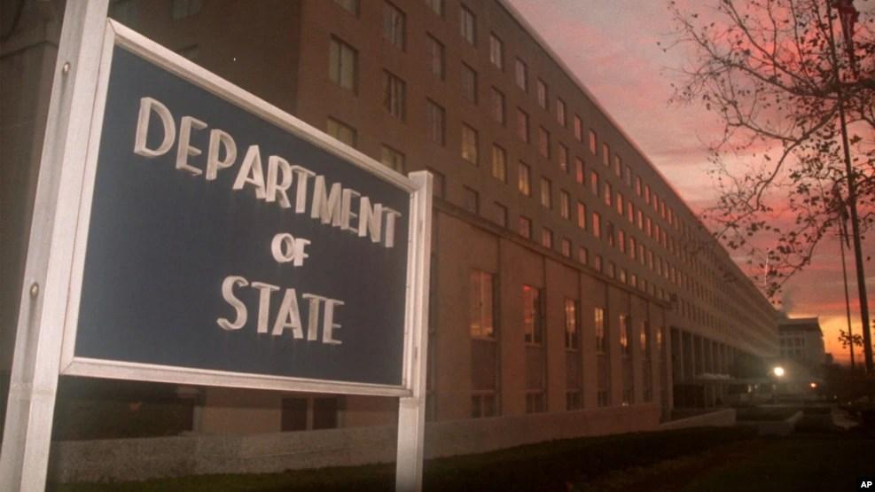 Trụ sở Bộ Ngoại giao Mỹ ở thủ đô Washington DC.
