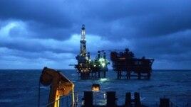 Giàn khoan dầu của Tổng công ty dầu khí ngoài khơi quốc gia Trung Quốc CNOOC.
