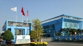 Trụ sở của Vietnam Waste Solutions ở ngoại ô Sài Gòn (ảnh do công ty cung cấp)