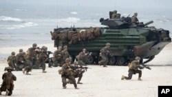 Морська піхота США на навчаннях Baltops 2018 у Литві.
