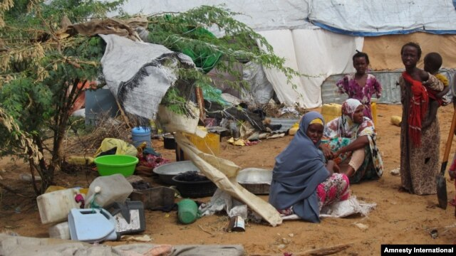 Displaced Somali women and girls are especially vulnerable to sexual assault.
