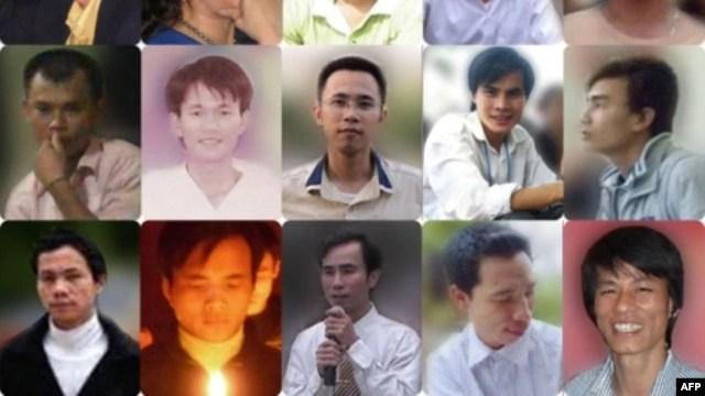 Những người trẻ trong nhóm 17 nhà tranh đấu nhân quyền bị bắt giam từ cuối tháng 7 năm 2011 vì bị cáo buộc vi phạm điều 79 và 88 Bộ Luật Hình sự.