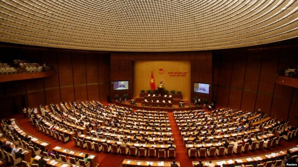 Toàn cảnh phiên khai mạc một kỳ họp của Quốc Hội Việt Nam ở Hà Nội, ngày 20/07/2016.