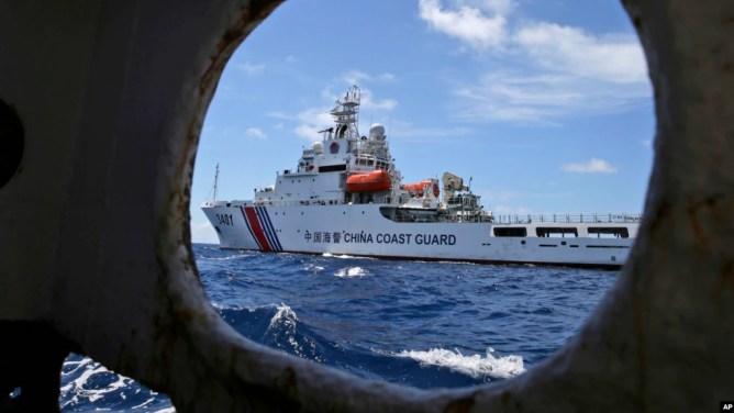 Một tàu hải cảnh của Trung Quốc (ảnh minh họa).