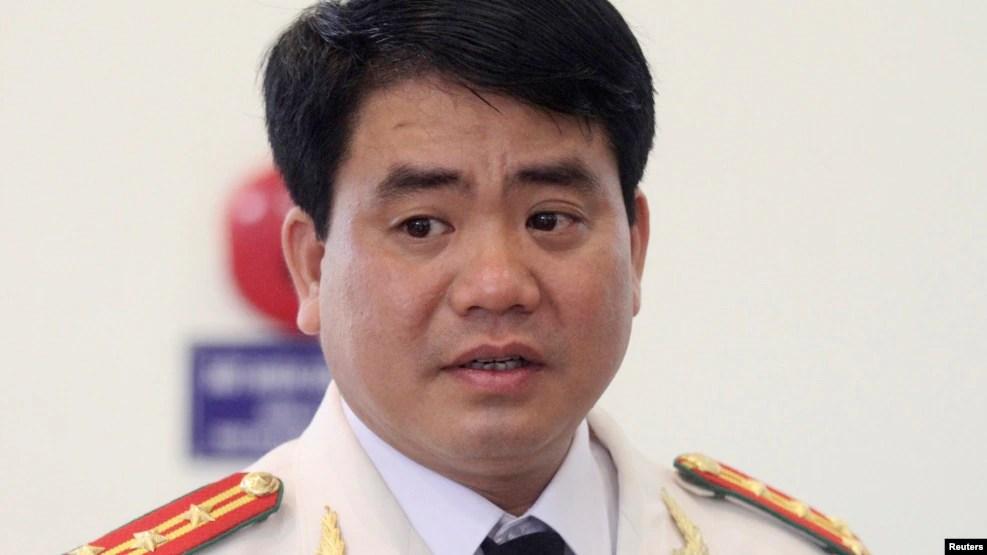 Chủ tịch Ủy ban Nhân dân Hà Nội Nguyễn Đức Chung. (Ảnh tư liệu)