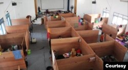 Hampir 1.500 pengungsi dari 4 kabupaten di kaki Merapi telah menempati barak pengungsian yang disediakan. (Foto: BNPB)