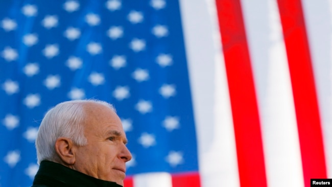US Senator, War Hero John McCain Dead at 81