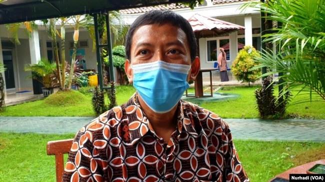 Juru Bicara Gugus Tugas Covid-19 Kabupaten Bantul, Wahyu Joko Santoso. (Foto: Nurhadi)