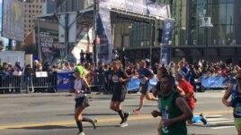 New York City Marathon, Sunday, Nov. 6, 2016, in New York. (M. Besheer/VOA)