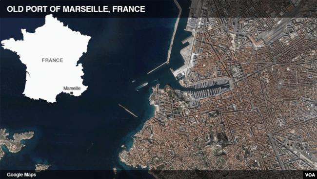 Old Port of Marseille, France